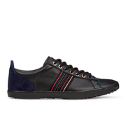 Paul Smith Shoes Men's Osmo Vulcanised Trainers - Black Mono