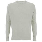 Threadbare Men's France Crew Neck Jumper - Snow Marl