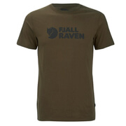 Fjallraven Men's Logo T-Shirt - Tarmac
