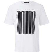 Alexander Wang Men's Barcode T-Shirt - White
