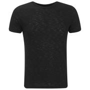 J.Lindeberg Men's Crew Neck T-Shirt - Black