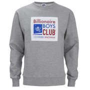 Billionaire Boys Club Men's Reversible Crew Neck Sweatshirt - Heather Grey
