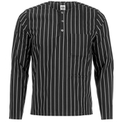 Opening Ceremony Men's Pinstripe Tunic Shirt - Black