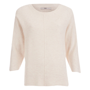 ONLY Women's Tessa 3/4 Oversize Pullover Knit Jumper - Peach Blush
