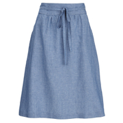 A.P.C. Women's Bellona Skirt - Indigo