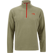 The North Face Men's Glacier Quarter Zip Jacket - Mountain Moss