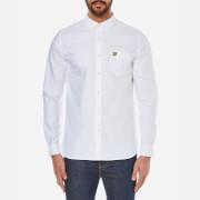 Lyle & Scott Vintage Men's Long Sleeve Oxford Shirt - White