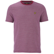 Lyle & Scott Vintage Men's Crew Neck Birdseye T-Shirt - Ruby