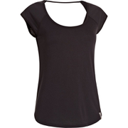 Under Armour Women's Fly By Short Sleeve T-Shirt - Black