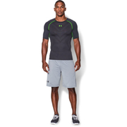 Under Armour Men's Armourvent Compression Short Sleeve T-Shirt - Black