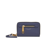 Marc By Marc Jacobs Womens Gotham City Zip Phone Wristlet Purse - Navy