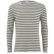 Armor Lux Men's Marinere Long Sleeve T-Shirt - Zand/Aviso