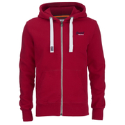 Superdry Men's Orange Label Zip Hoody - Richest Red