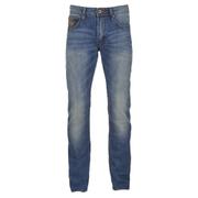 Superdry Men's Corporal Slim Denim Jeans - Clear Blue Antique