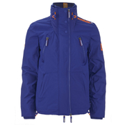 Superdry Men's Wind Attacker Jacket - Royal Blue/Fluorescent Orange