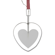 Bark & Blossom Cut Out Heart Hanger Light