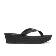 UGG Australia Women's Ruby Wedged Sandals - Black