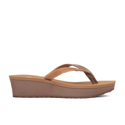 UGG Australia Women's Ruby Wedged Sandals - Chestnut