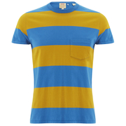 Levi's Vintage Men's 60s Casual Stripe T-Shirt - Yellow/Blue Stripe