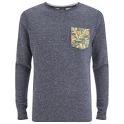 Jack & Jones Men's Originals Boom Pocket Sweatshirt - Navy Blazer