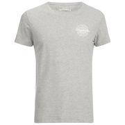Jack & Jones Men's Originals Smooth T-Shirt - Light Grey Melange