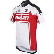 Santini Ducati Classic Short Sleeve Jersey - White
