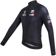 Santini GCN Sleek H20 Long Sleeve Jersey - Black
