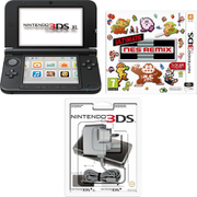 Nintendo 3DS XL (Black) + Ultimate NES Remix