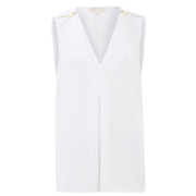MICHAEL MICHAEL KORS Women's Double Layer Tank Vest - White