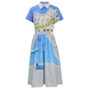 Paul & Joe Sister Women's Parasol Dress - Blue