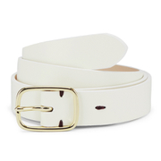 Paul Smith Accessories Women's Classic Belt - White