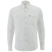 Levi's Men's Barstow Western Shirt - Whisper White