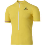 Le Coq Sportif Performance Merino Short Sleeve Jersey - Yellow