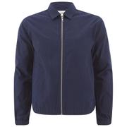Folk Men's Zipped Jacket - Bright Navy