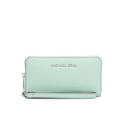 MICHAEL MICHAEL KORS Women's Jet Set Phone Purse - Celadon