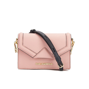 Karl Lagerfeld Women's K/Klassik Super Mini Crossbody Bag - Misty Rose