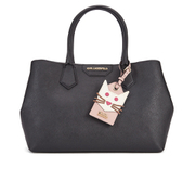 Karl Lagerfeld Women's Small K/Shopper Saffiano Bag - Black