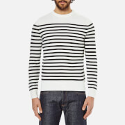A.P.C. Men's Pull Captain Jumper - Ecru