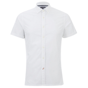 Tommy Hilfiger Men's Byram Short Sleeve Shirt - Classic White