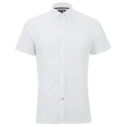 Tommy Hilfiger Men's Byram Short Sleeved Shirt - Classic White