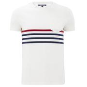 Tommy Hilfiger Men's Karl Striped T-Shirt - Snow White