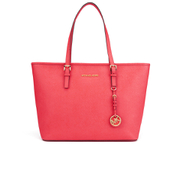 MICHAEL MICHAEL KORS Women's Jet Set Travel Top Zip Tote - Coral Reef