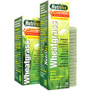 Nutrifiz Effervescent Wheatgrass, Lemon, 20 Tablets
