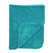 Luxurious Mink Faux Fur Throw - Teal