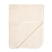 Luxurious Mink Faux Fur Throw - Cream