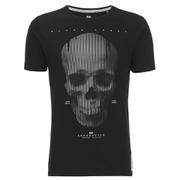Crosshatch Men's Cerebrum T-Shirt - Black