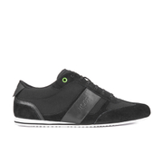 BOSS Green Men's Lighter Low P Trainers - Black