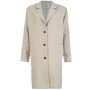 Selected Femme Women's Tanja Coat - Silver Cloud