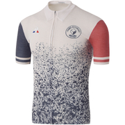 Le Coq Sportif Men's Paris Roubaix Pro Short Sleeved Jersey - White
