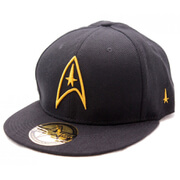 Star Trek Golden Starfleet Logo Baseball Cap